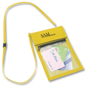 Polypropylene Neck Wallet Main Image
