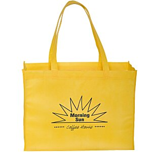 "Gusseted Polypropylene Tote - 16"" x 12"" - 24 hr Main Image"