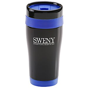 Black Stainless Steel Tumbler - 16 oz. Main Image