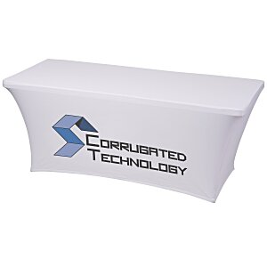 UltraFit Table Cover - 6' - Front Panel - Full Color Main Image