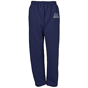 Gildan 50/50 Open Bottom Sweatpants - Screen Main Image