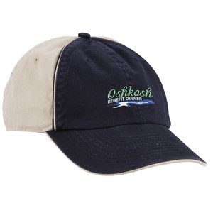 Ashburn Two-Tone Embroidered Cap Main Image