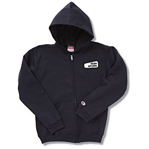 Champion Full-Zip Hoodie - Youth - Screen