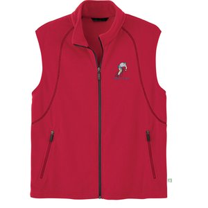 Recycled Polyester Fleece Vest - Men's