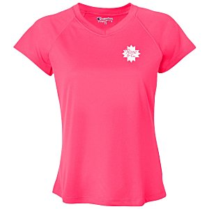 Champion Double Dry Performance V-Neck T-Shirt - Ladies' Main Image
