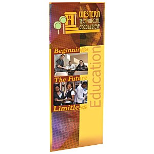 "Economy Retractor Banner - 31-1/2"" - Replacement Graphic"