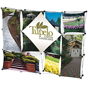 10' Geometric Dye-Sublimated Pop-Up Display Main Image