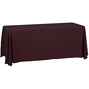 Closed-Back Table Throw - 6' - Blank Main Image