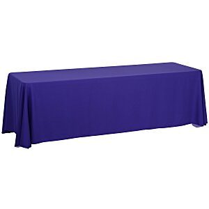 Closed-Back Table Throw - 8' - Blank Main Image