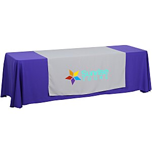 8' Closed-Back Table Throw and Runner Kit