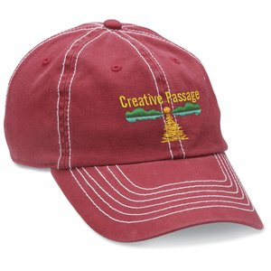 Retro Cap - Embroidered - Closeout Colors Main Image