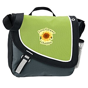 A Step Ahead Messenger Bag - Full Color Main Image