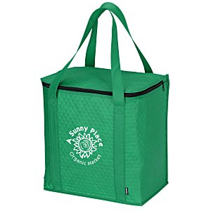 KOOZIE® Zippered Insulated Grocery Tote Main Image