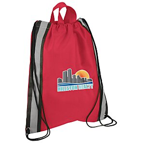 "Reflective Stripe Sportpack - 16"" x 13"" - Full Color"