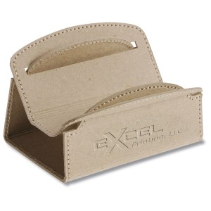 Recycled Cardboard Business Card Holder