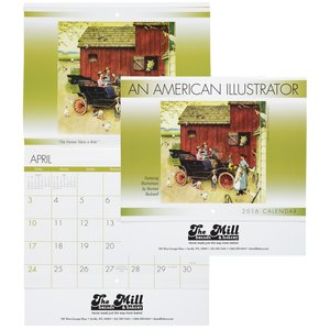 An American Illustrator 2016 Calendar - Stapled - Closeout Main Image