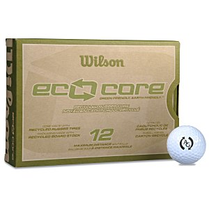 Wilson Eco Core Golf Ball - Dozen - Quick Ship Main Image
