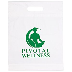 "Eco Die Cut Bag - 14"" x 9-1/2"" Main Image"