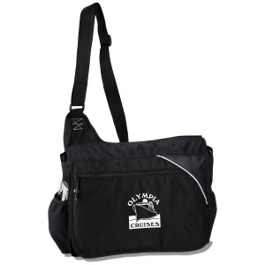 Tempo 100% Recycled PET Urban Messenger Bag Main Image