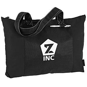 100% Recycled PET Laguna Zippered Tote Main Image
