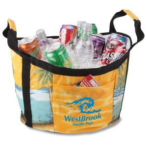Life-of-the-Party Tub Cooler - Beach Main Image