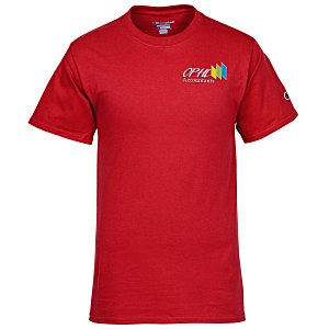 Champion Tagless T-Shirt - Embroidered - Colors Main Image