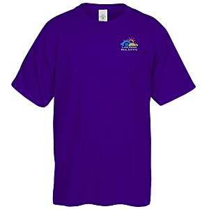Hanes 50/50 ComfortBlend T-Shirt - Embroidered - Colors Main Image