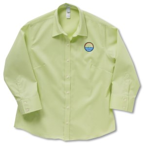 Jockey Wrinkle-Resistant 3/4 Sleeve Shirt - Ladies' Main Image