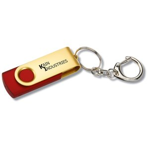 Swing USB Drive - Gold - 1GB Main Image