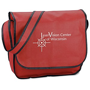 Polypropylene Messenger Bag - 24 hr Main Image