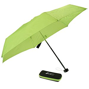"37"" Arc Folding Umbrella with EVA Case"