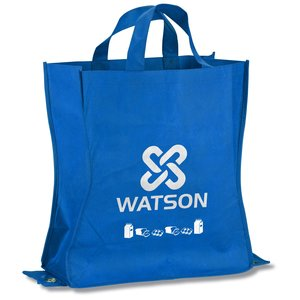 Polypropylene Shop-N-Fold Cold Tote - Market Design Main Image
