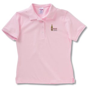 Jerzees 100% Ringspun Cotton Pique Sport Shirt - Ladies' Main Image