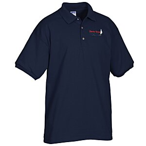 Gildan Cotton Jersey Sport Shirt - Embroidered Main Image