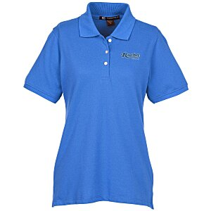 Harriton 5.6 oz. Easy Blend Polo - Ladies'