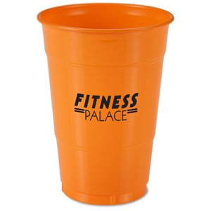 Colorware Plastic Cup - 16 oz. - Low Qty Main Image