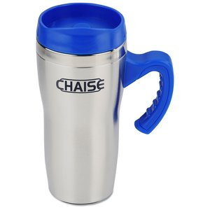 Get-A-Grip Stainless Travel Mug - 16 oz. Main Image