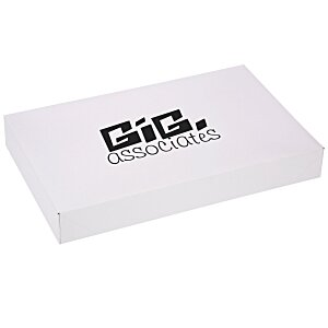 "Apparel Gift Box - 9-1/2"" x 15"" x 2"" - Gloss White Main Image"