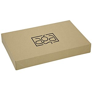 "Apparel Gift Box - 9-1/2"" x 15"" x 2"" - Natural Kraft Main Image"