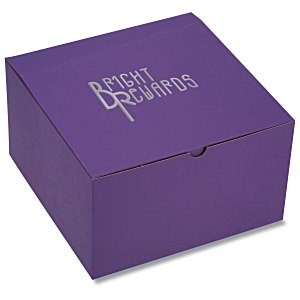 "Gift Box - 10"" x 10"" x 6"" - Tinted Kraft Main Image"