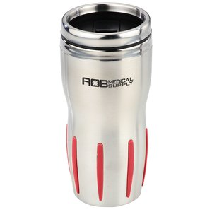Stainless Rib-Grip Tumbler - 16 oz. Main Image