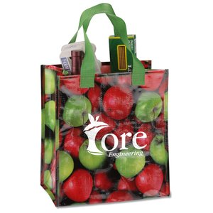 PhotoGraFX Grocery Tote - Apples Main Image
