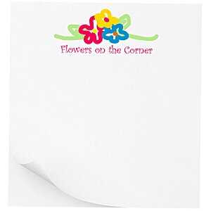 "Post-it® Notes - 3"" x 2-3/4"" - 50 Sheet - White - Recycled Main Image"