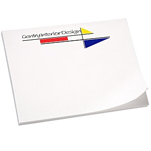 "Post-it® Notes - 3"" x 4"" - 25 Sheet - White - Recycled"