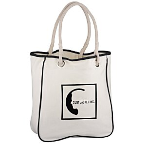 Cotton Canvas Rope Tote Main Image
