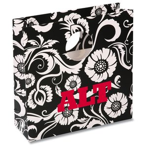 Round Handle Gift Bag - Paisley Main Image