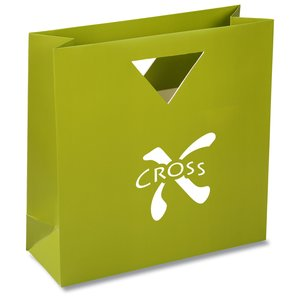 Triangle Handle Gift Bag - Solid Main Image