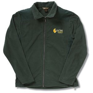 Recycled Polyester Fleece Full-Zip Jacket - Men's Main Image