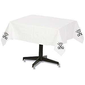 "Tablecloth w/Plastic Backing - 54"" x 54"""