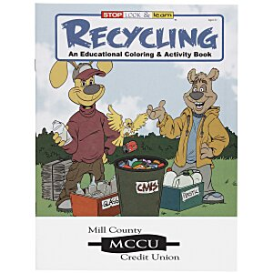 Recycling Coloring Book Main Image